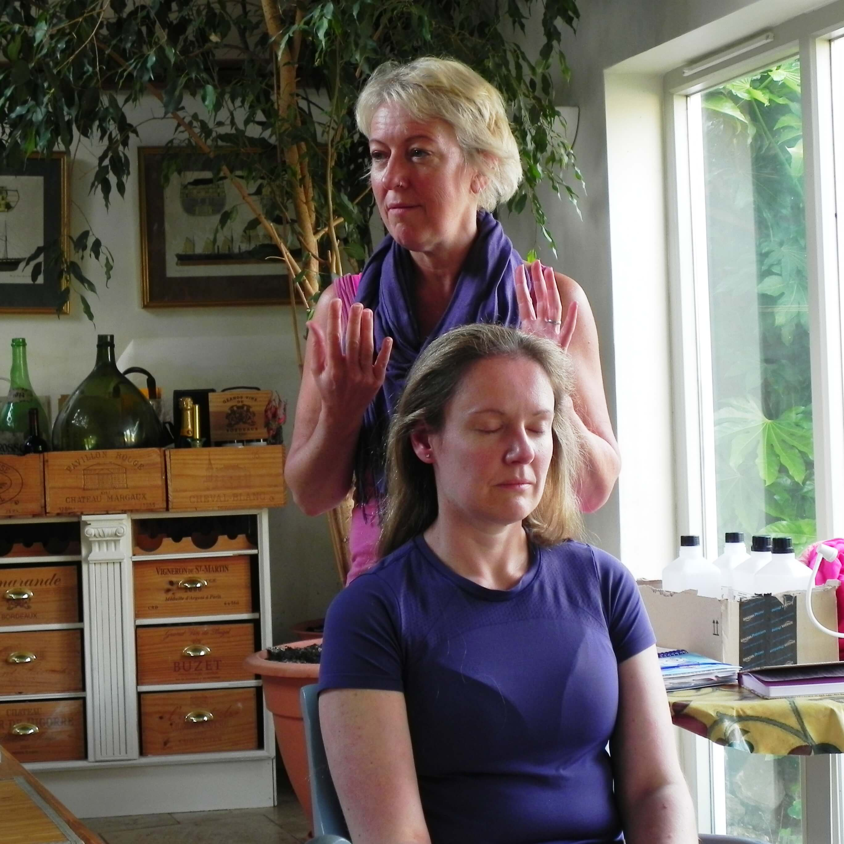 indian head massage training for relaxation