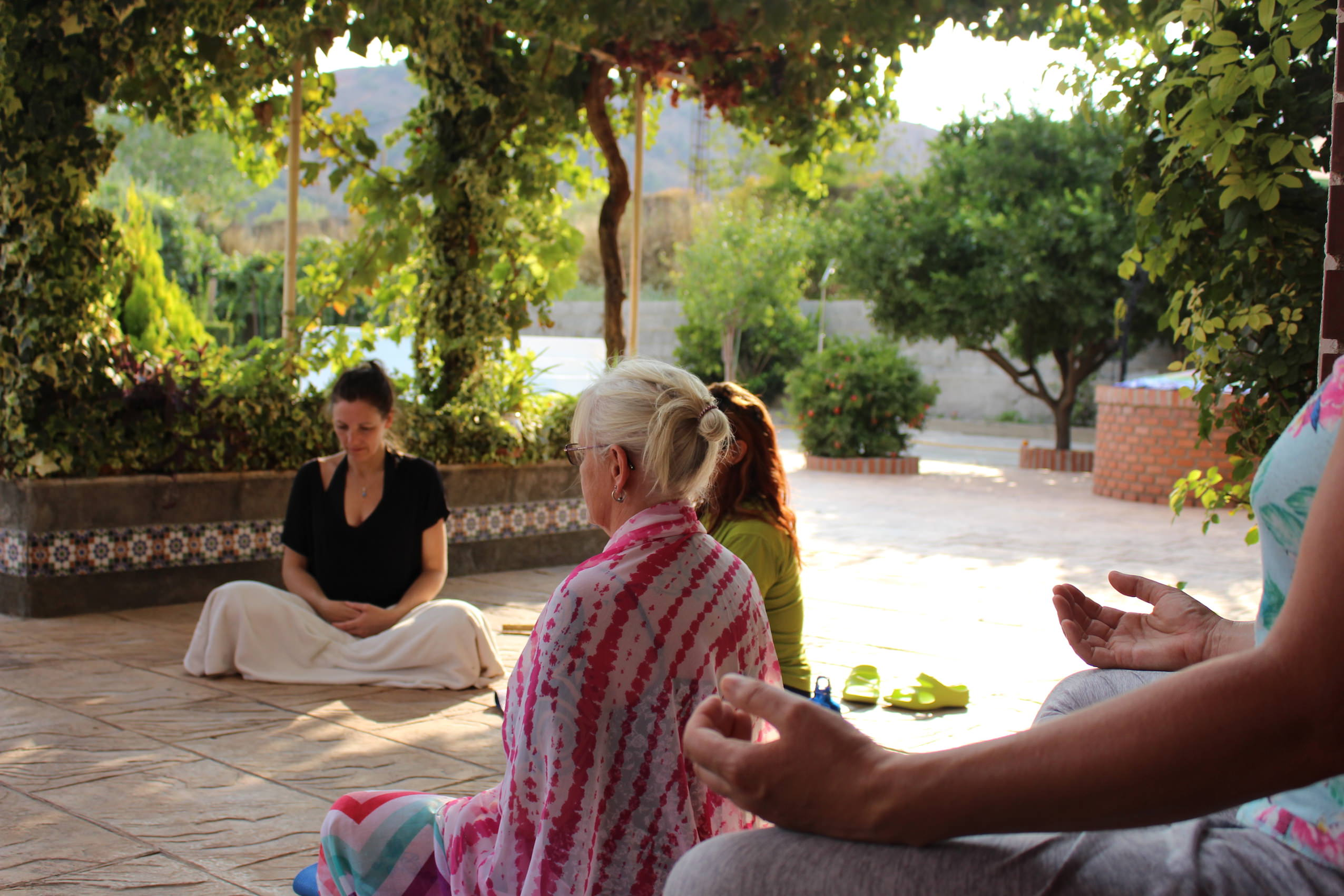 ashram retreat meditation spain