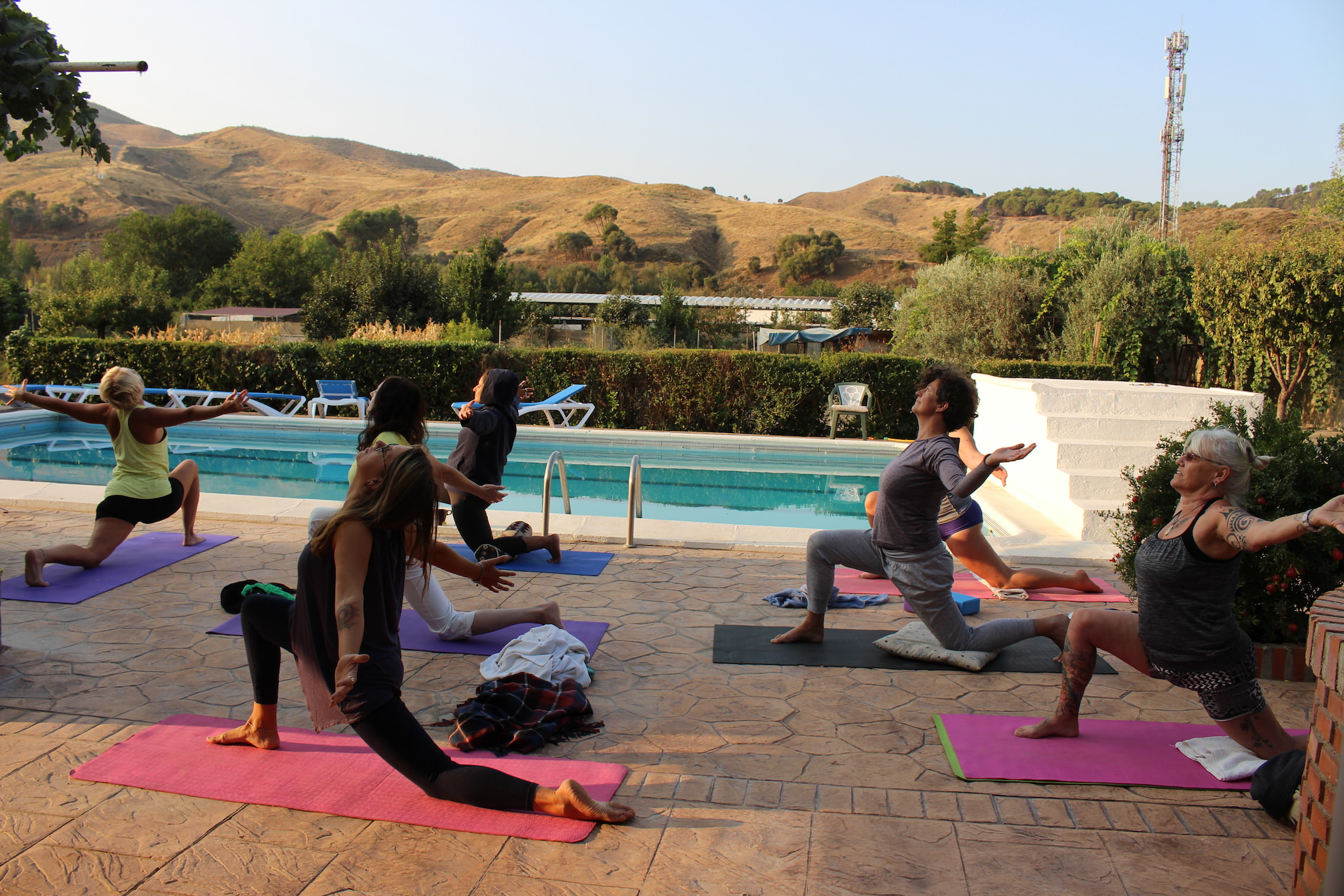 ashram retreat yoga spain