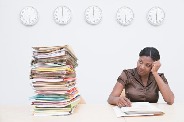 Heavy workload, no time, sabotage, procrastination