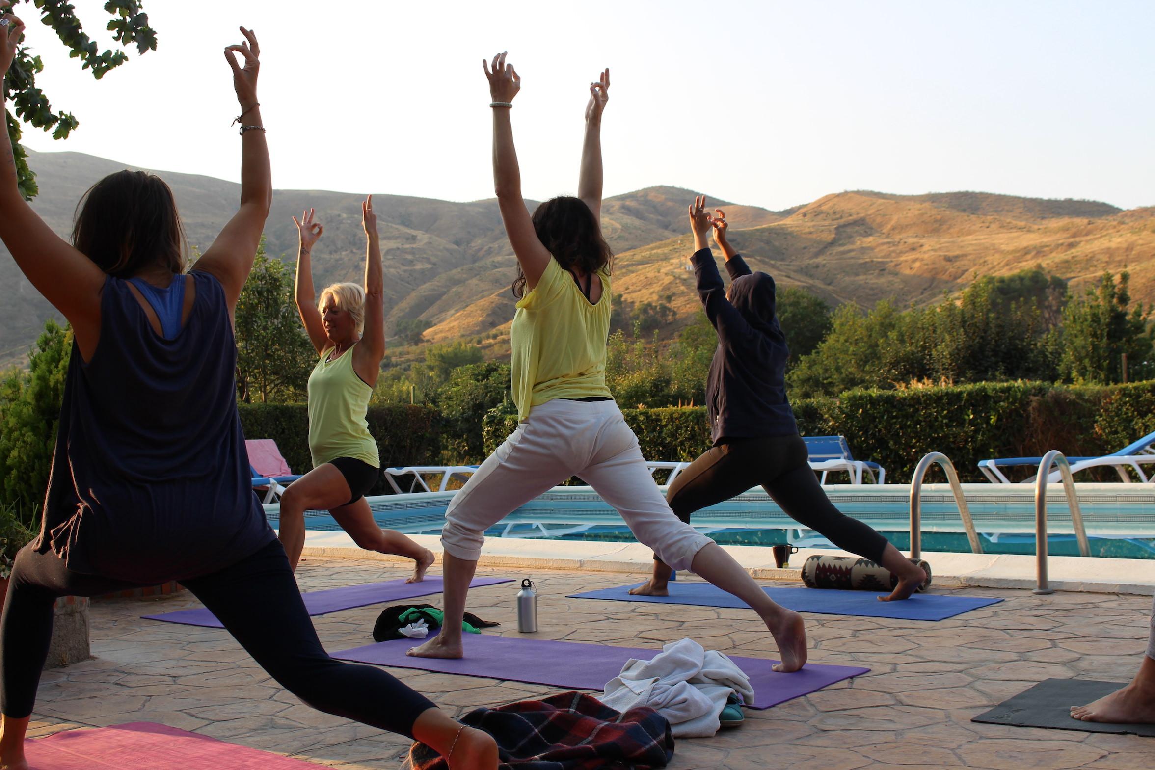 yoga benefits warrior goddess