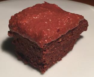 Almond Chocolate Brownie